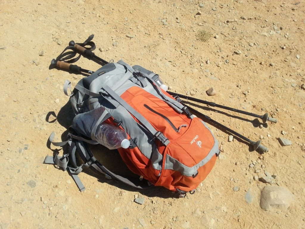 Pilgrim's backpack on the Camino de Santiago (photo: rggroning, Pixabay)