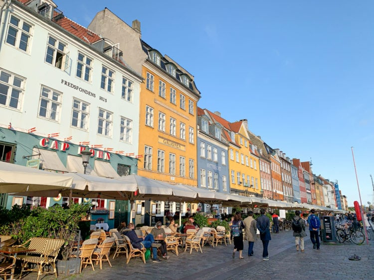 Walking around Nyhavn is one of the most popular things to do in Copenhagen
