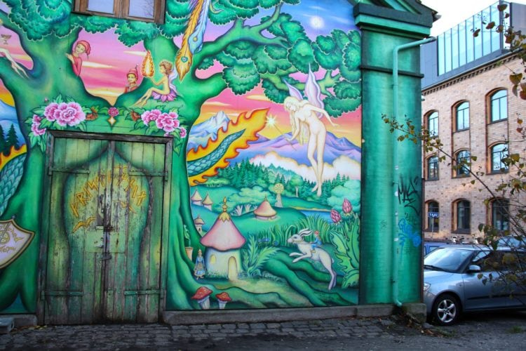 Street art in Christiania
