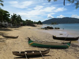 Beach on Nosy Komba Island, Madagascar