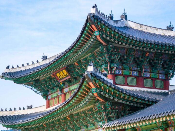 Temple in Seoul (photo: Brady Bellini, Unsplash)