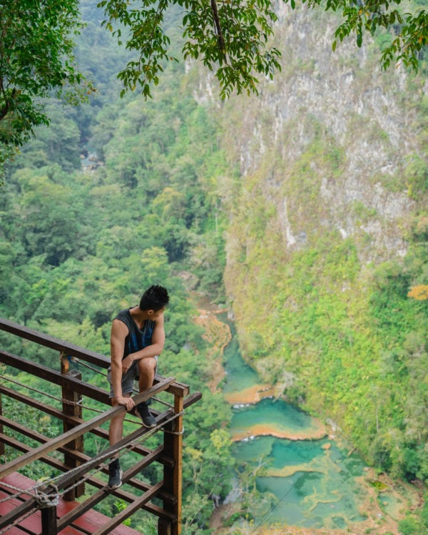 Semuc Champey is one of the most popular places to see in Guatemala