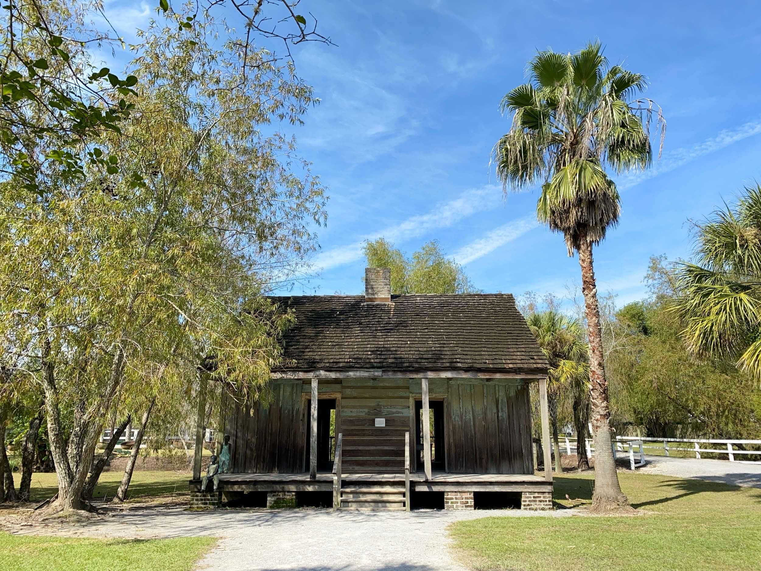 Slave quarters on Whitney Plantation