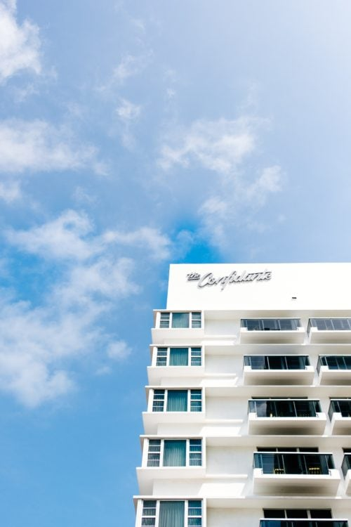 The Confidante Hotel in Miami (photo: Jason Briscoe, Unsplash)