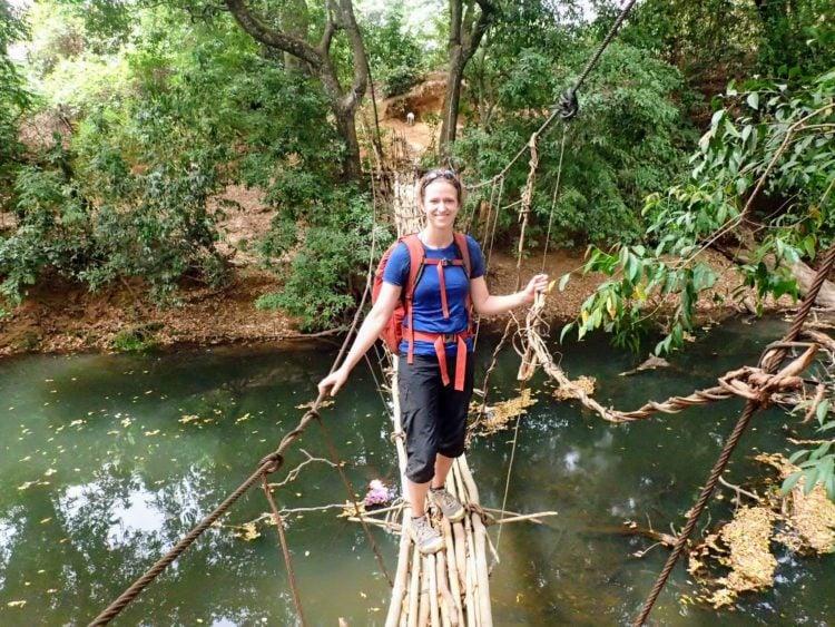 Trekking in Guinea