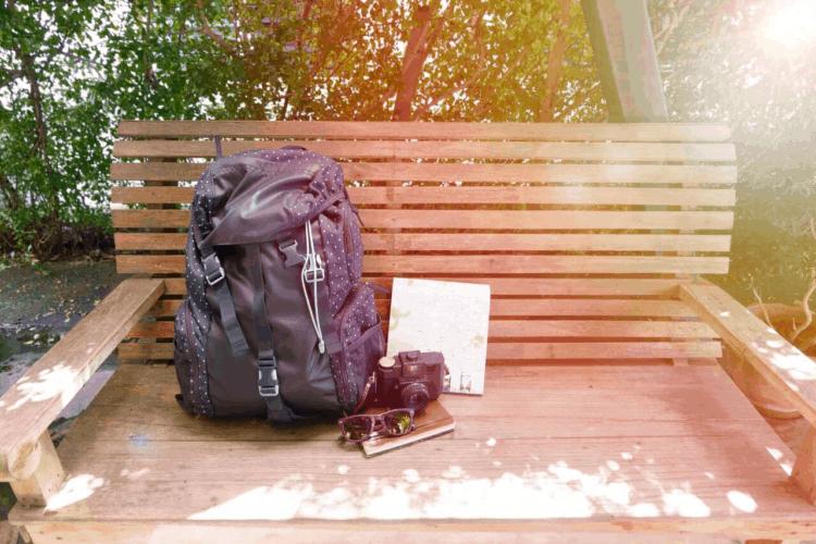 Backpack and camera (photo: Porapak Apichodilok, Pexels.com)