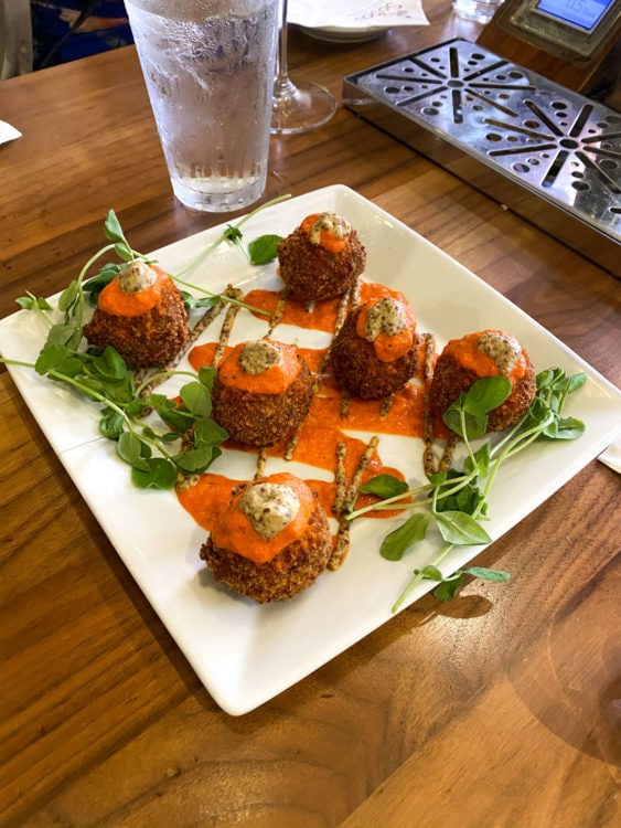 Boudin balls are one of the things you'll try on a New Orleans food tour