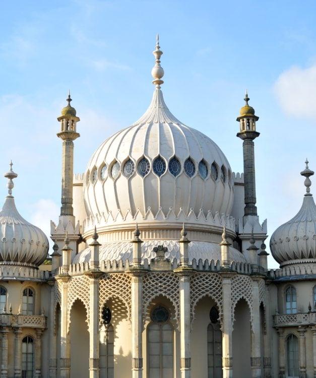 Brighton Royal Pavilion (photo: Adam Farrell, Pixabay)