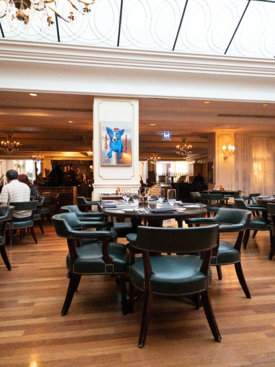 The Davenport Lounge is a ritzy jazz club in New Orleans