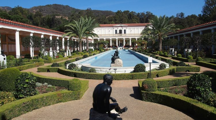 The Getty Villa (photo: Marie Schneider, Pixabay)