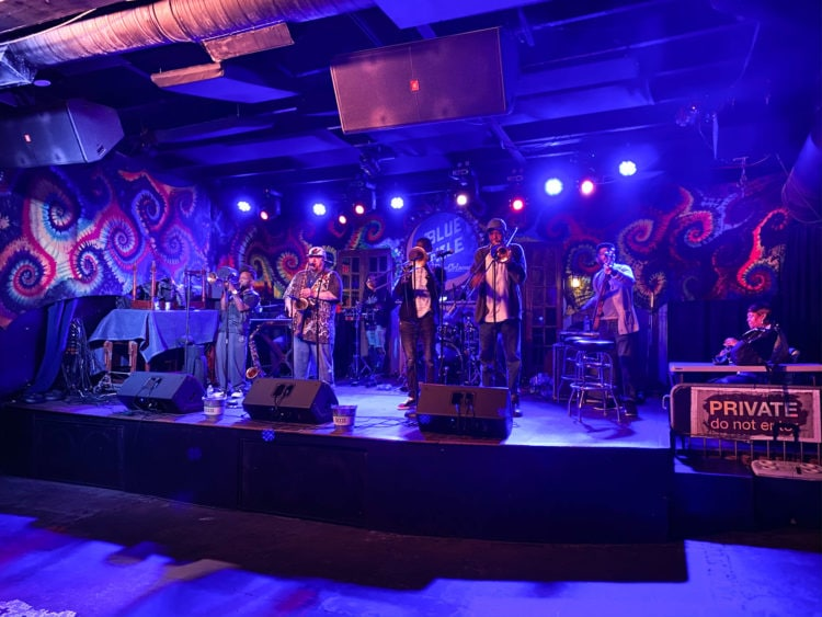 The Blue Nile is one of the best jazz clubs in New Orleans, Louisiana
