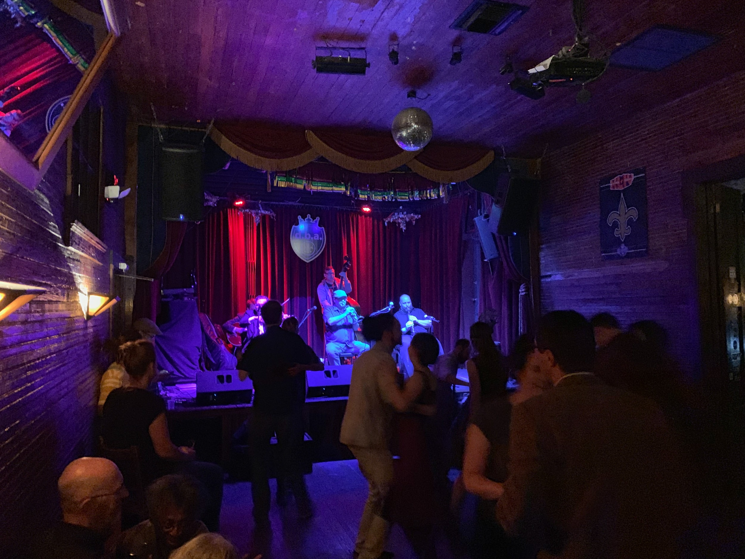Swing dancing at d.b.a. on Frenchmen Street in New Orleans
