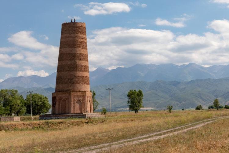 The Burana Tower is a minaret east of Bishkek (photo: Ninara, Flickr)