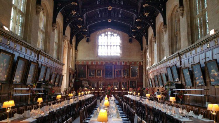 Christ Church College's Great Hall (photo: Waldo Miguez, Pixabay)