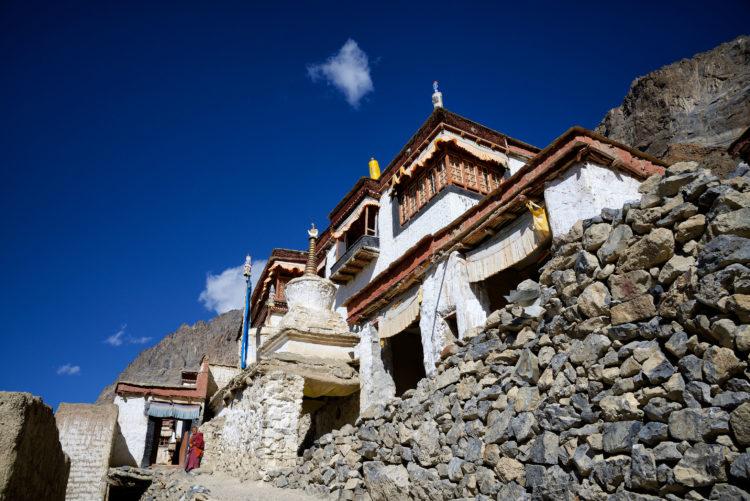 Diskit monastery in the Nubra valley