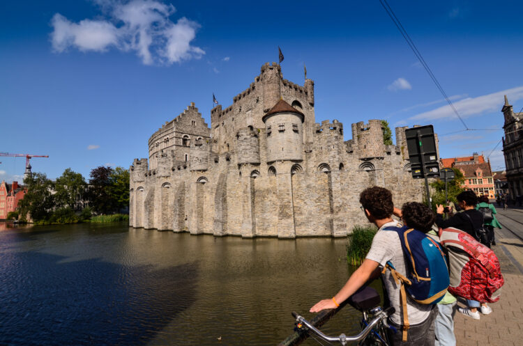One of the best things to do in Ghent is see Gravensteen Castle (photo: Massimo Parisi)