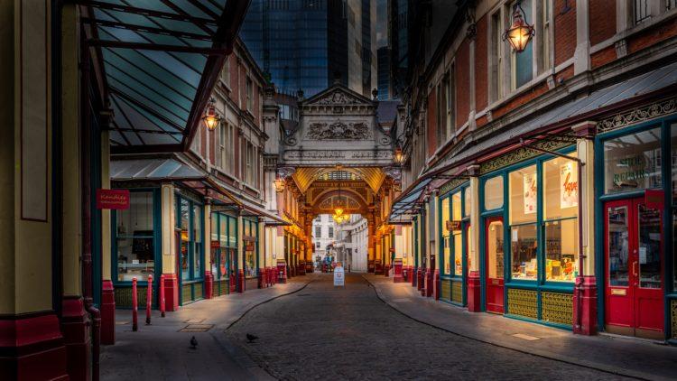 Leadenhall Market in London (photo: Pierre Blaché, Pixabay)