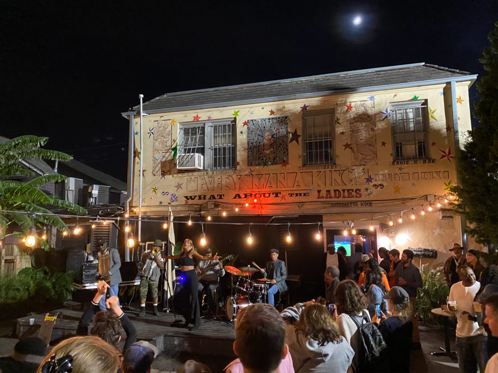 Live music at Kermit's Treme Mother in Law Lounge in New Orleans
