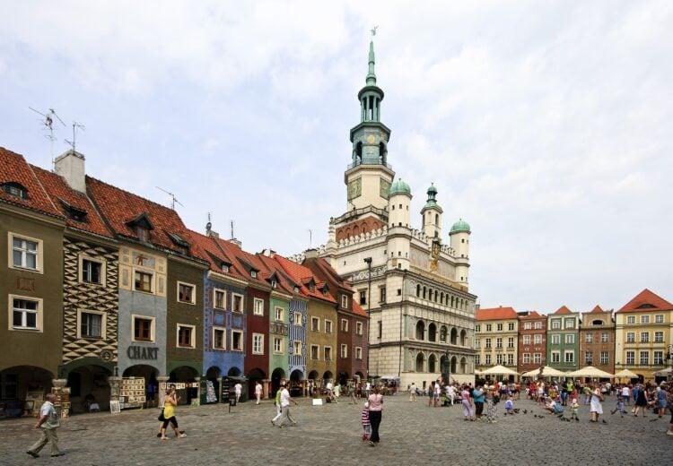 Poznan, Poland (photo: David Mark, Pixabay)