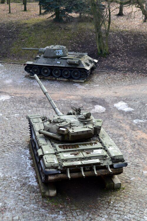 Tanks on display in Poznan (photo: Pixabay)