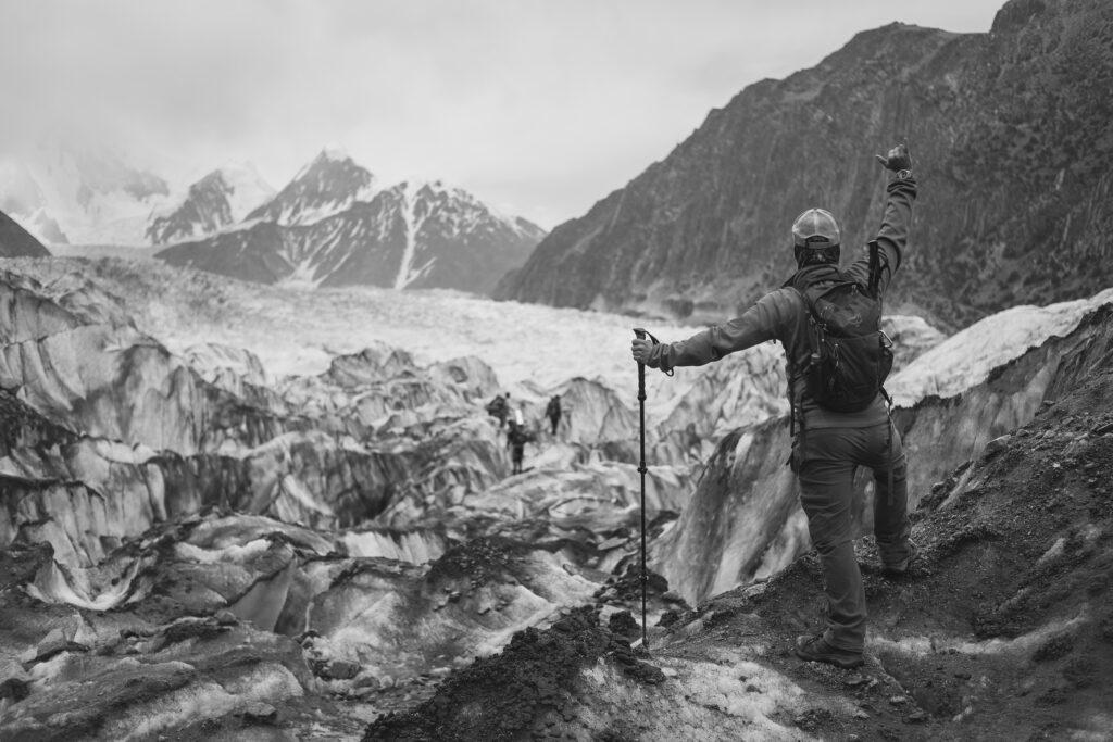 Will hiking Passu Glacier in the Hunza District