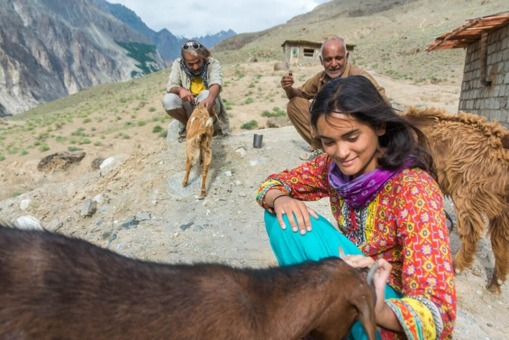 Woman in Pakistan