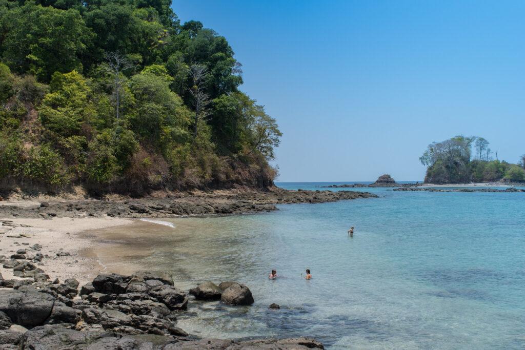 Beach on Coiba Island, Panama
