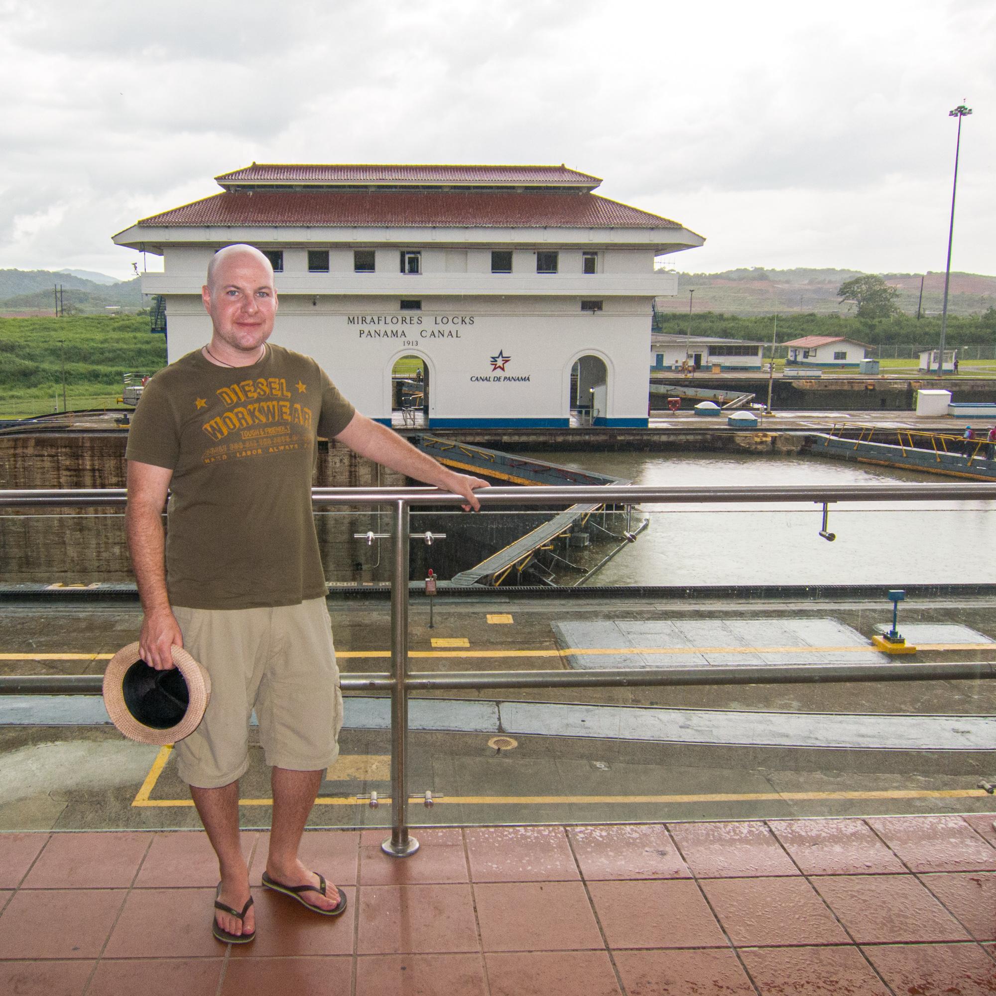 Miraflores Locks at Panama Canal