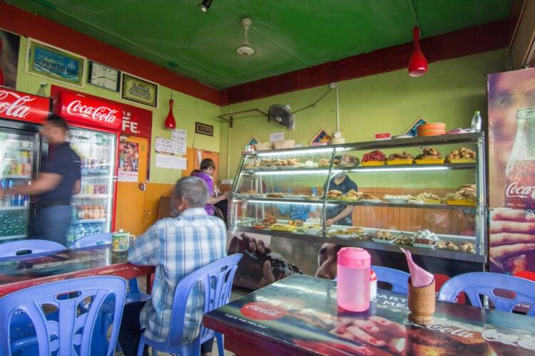 Small restaurant in the Maldives