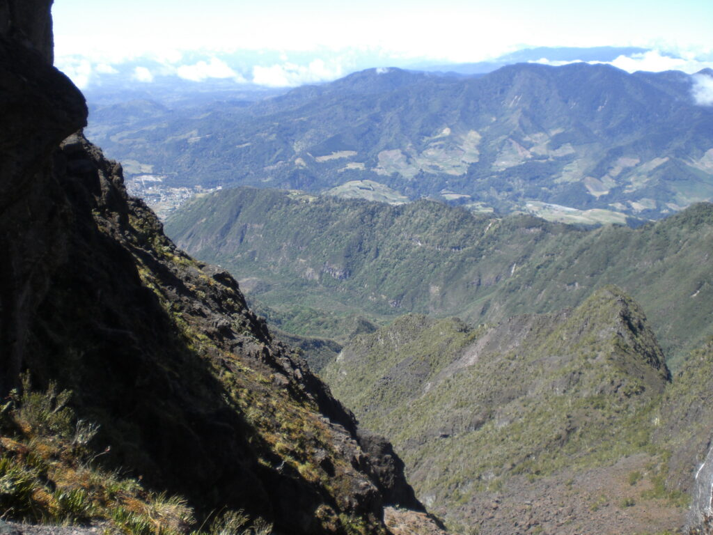 View from Vulcan Baru