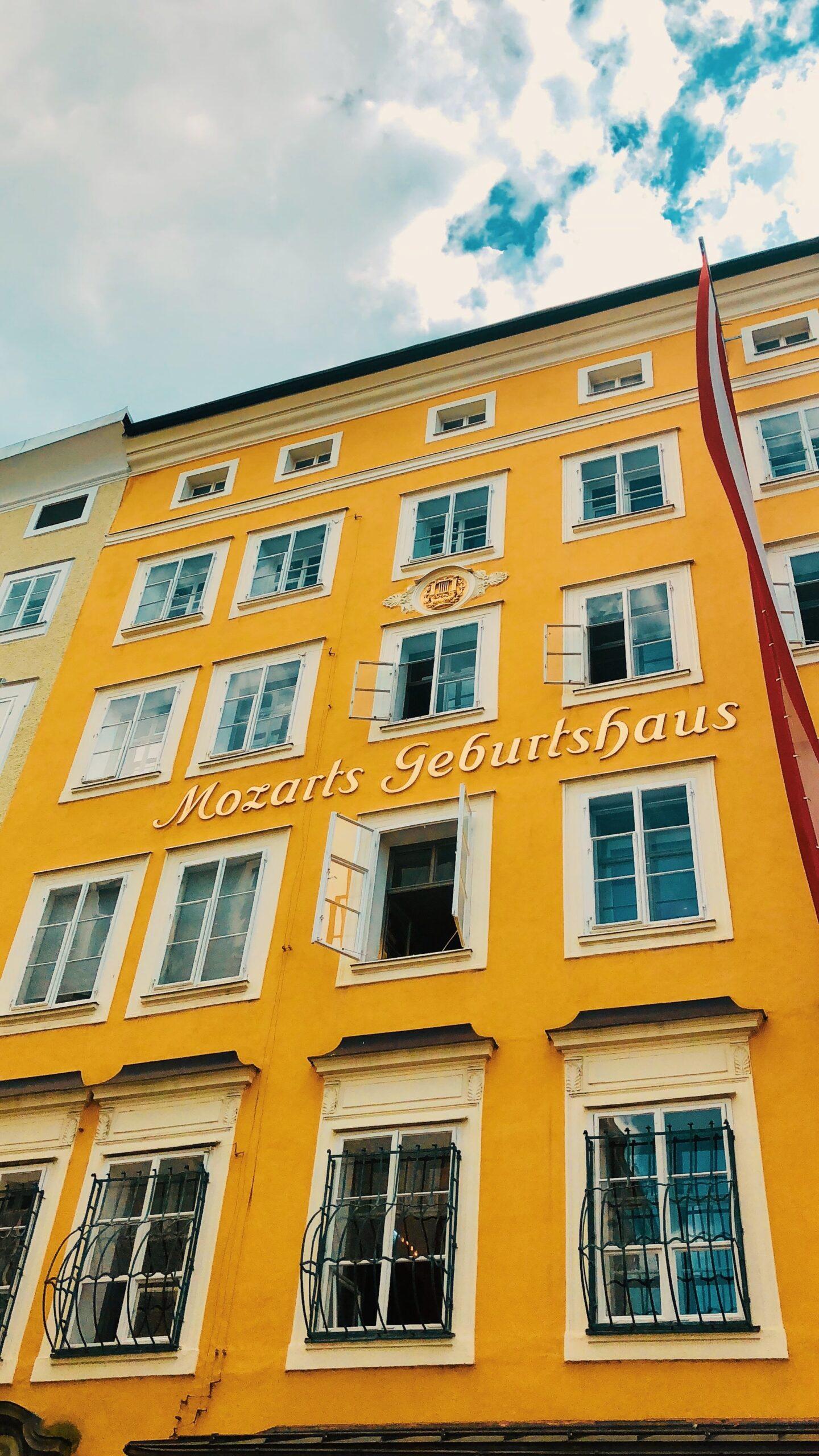 Birthplace of Mozart (photo: Reiseuhu, Unsplash)