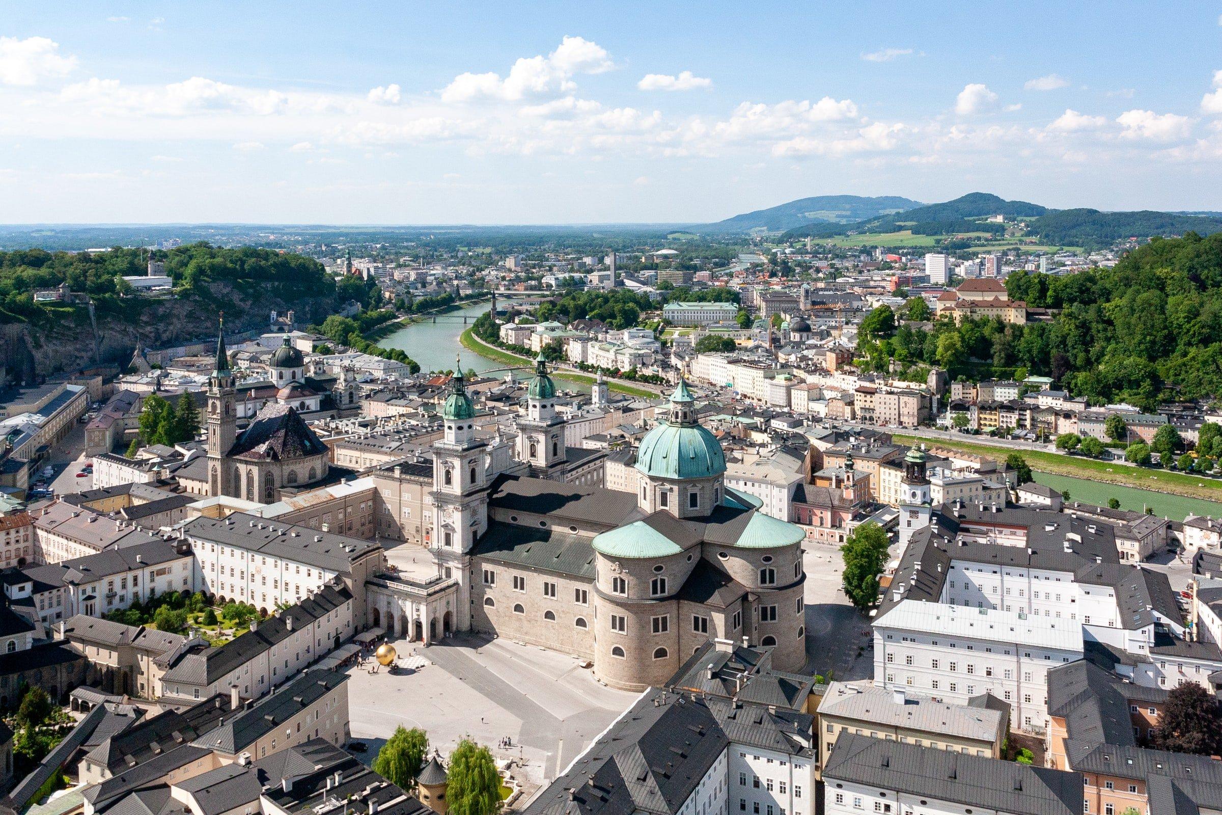 Salzburg (photo: Dimitry Anikin, Unsplash)