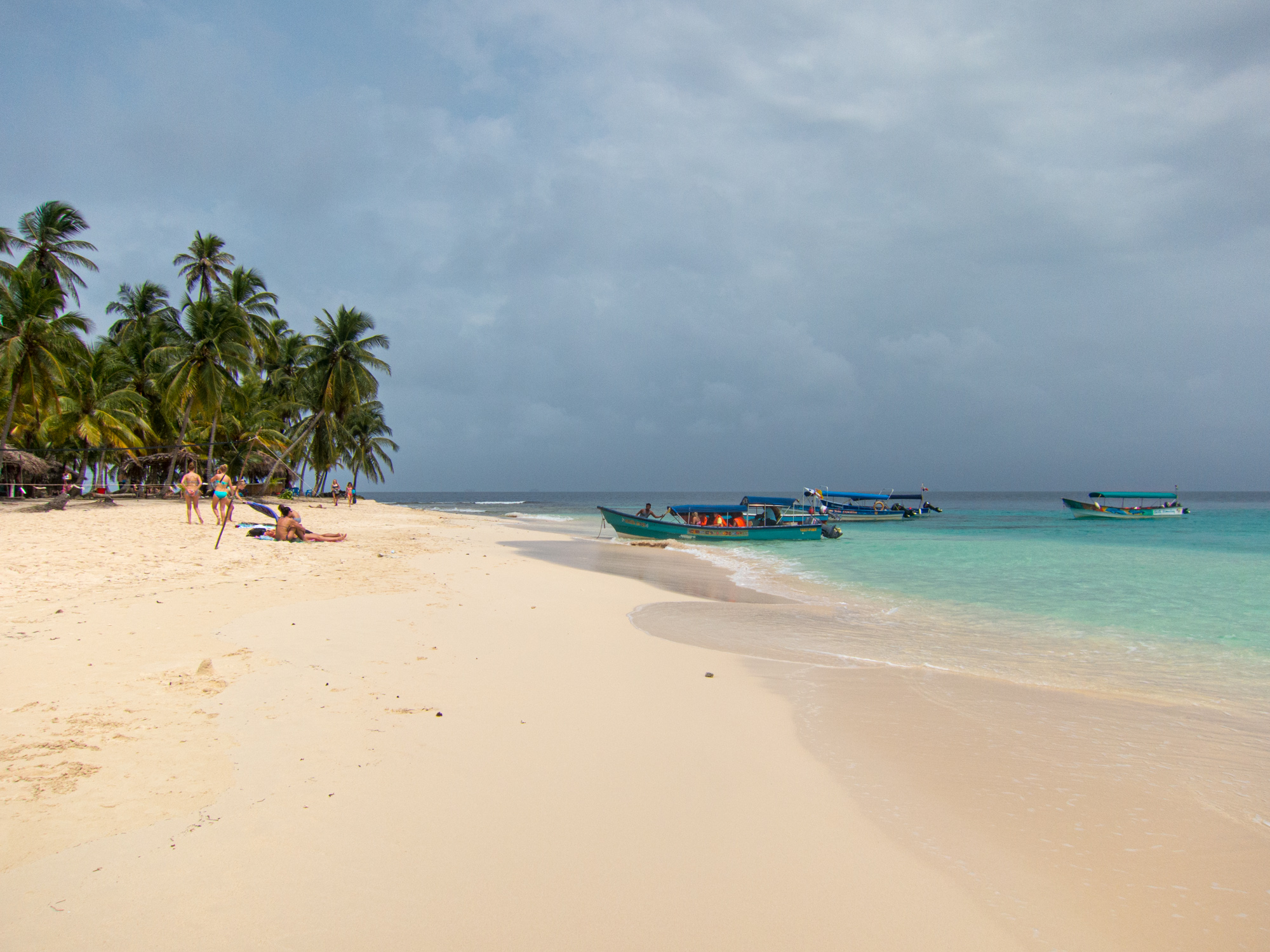 Dog Island beach in San Blas