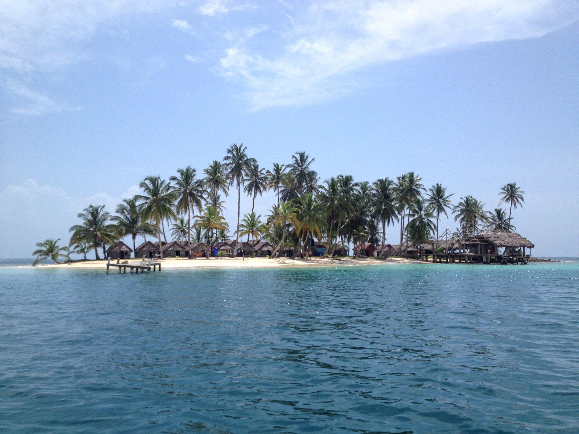 Kuanidup, one of the San Blas Islands in Panama