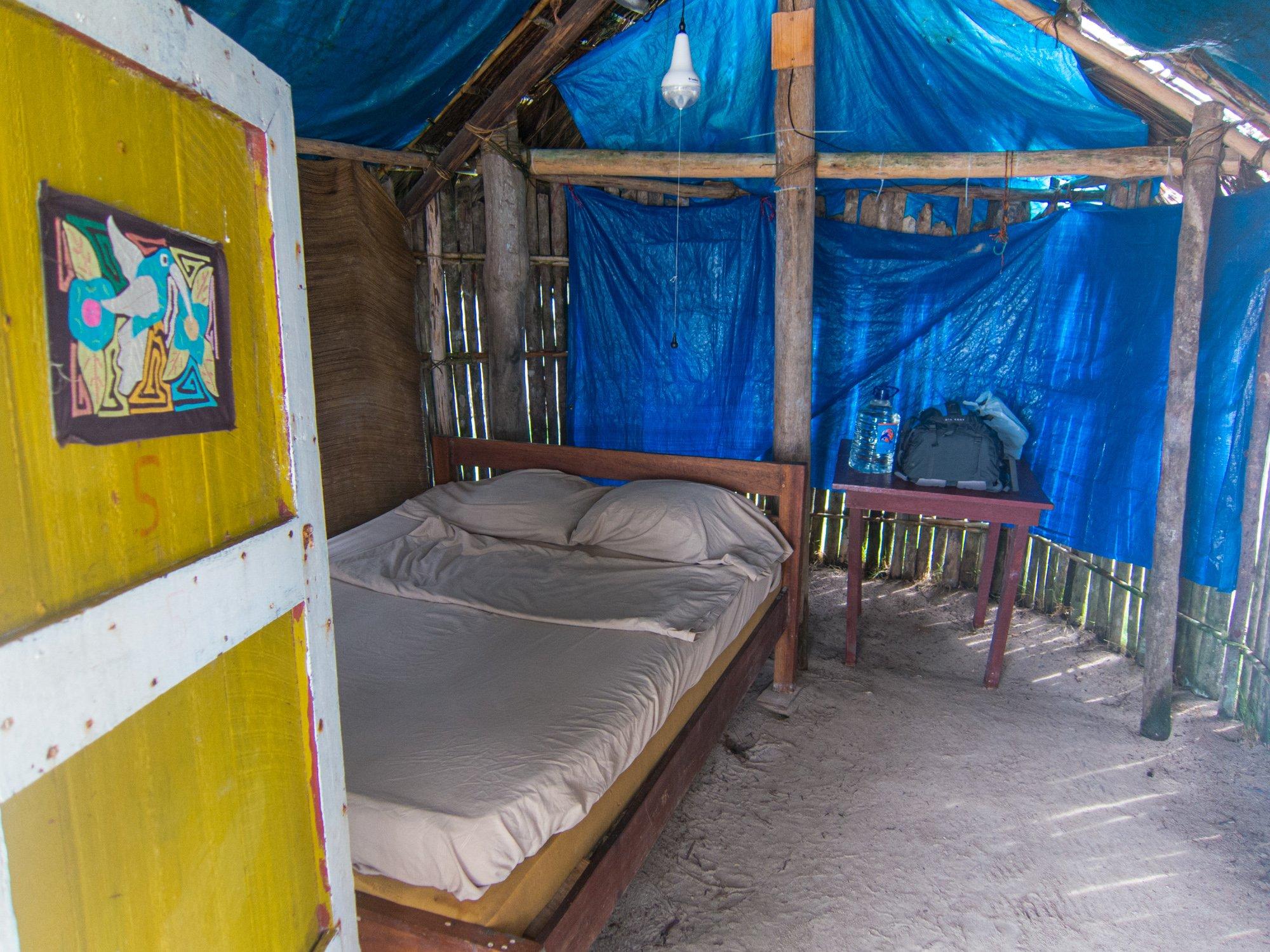 Inside my bungalow