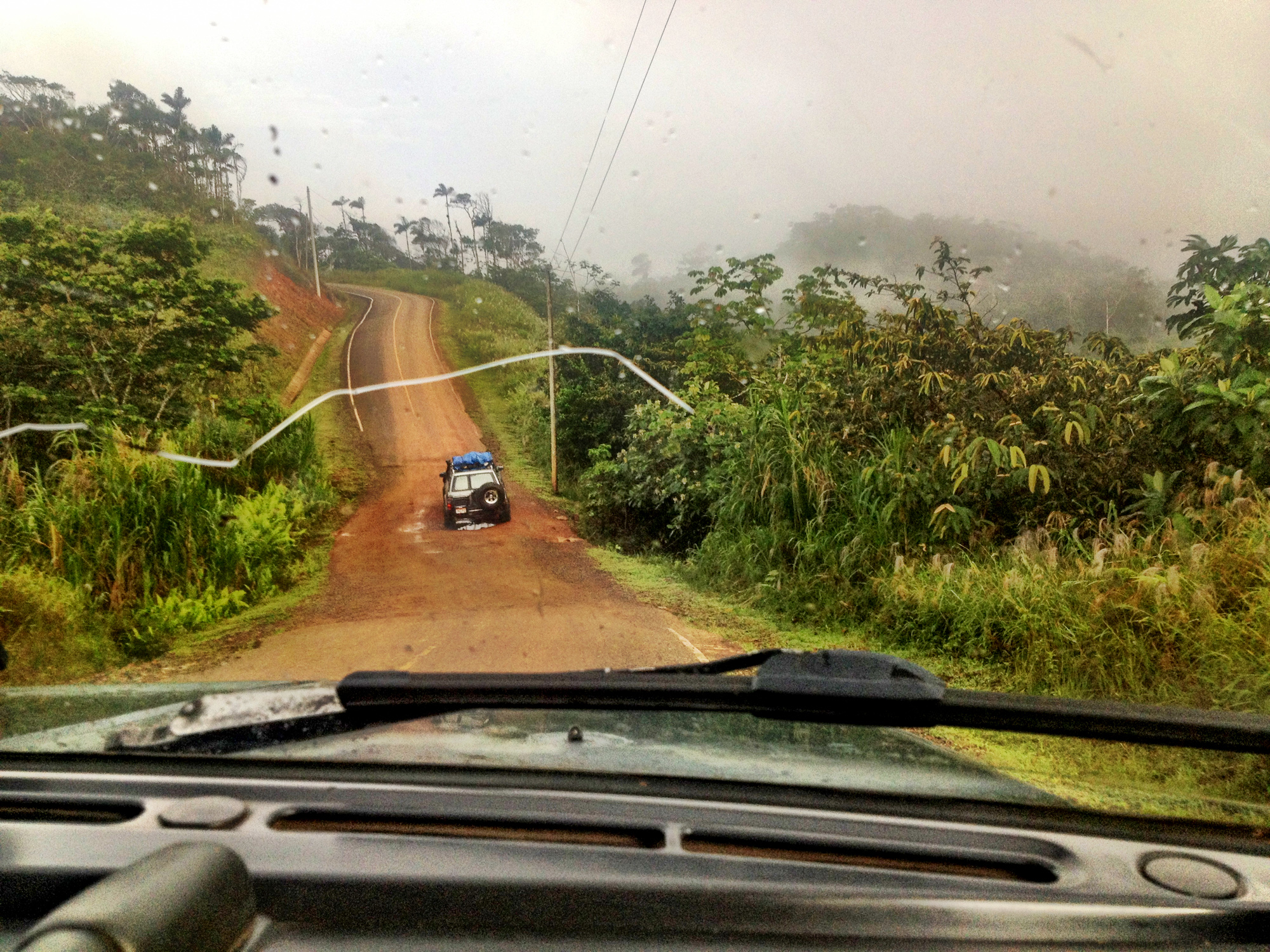 Road to San Blas