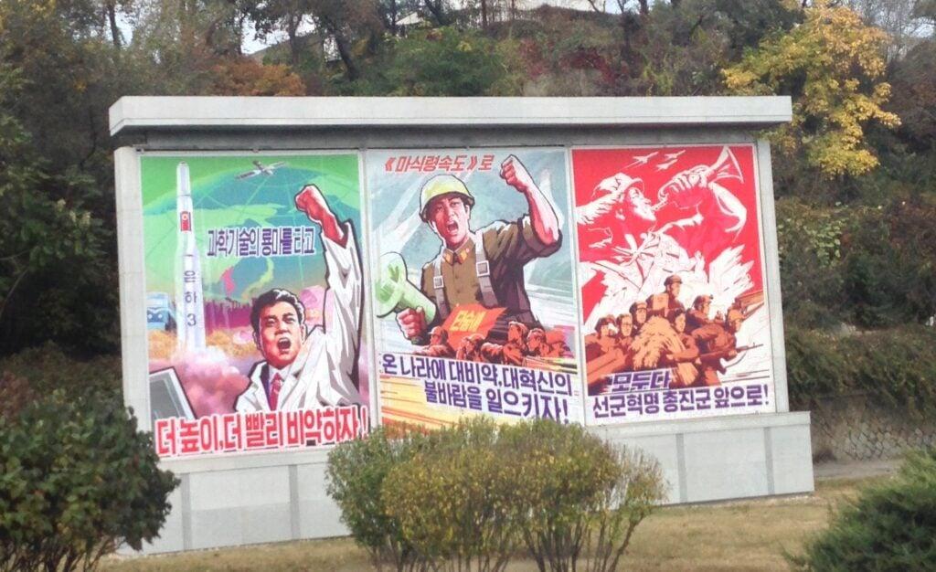 Propaganda in North Korea