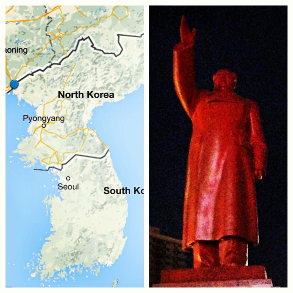 Mao Zedong statue - Dandong