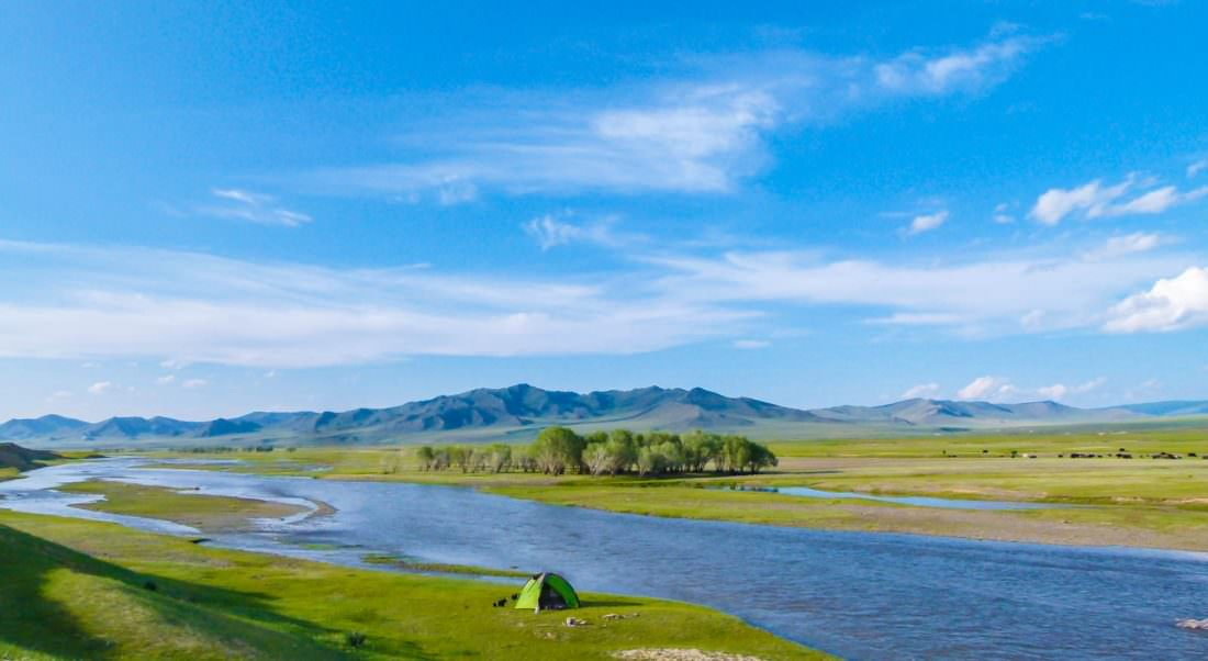 The vast beautify of Mongolia