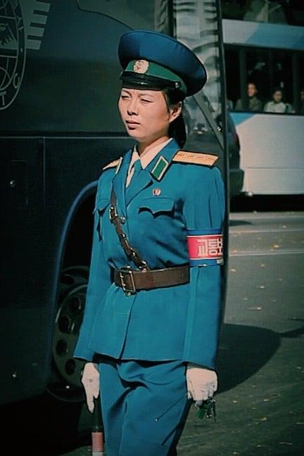North Korean traffic women
