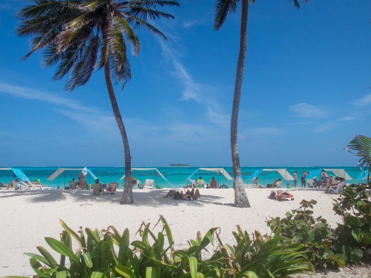 San Andres island beach