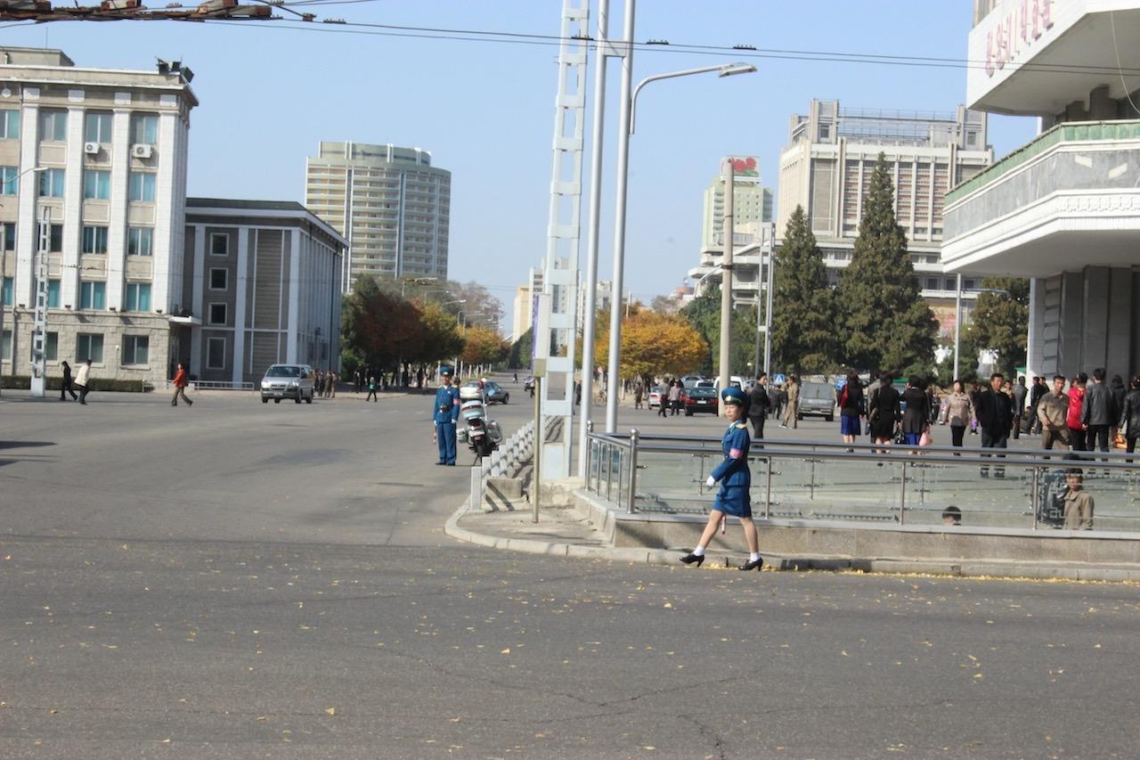 Street scene - Pyongyang
