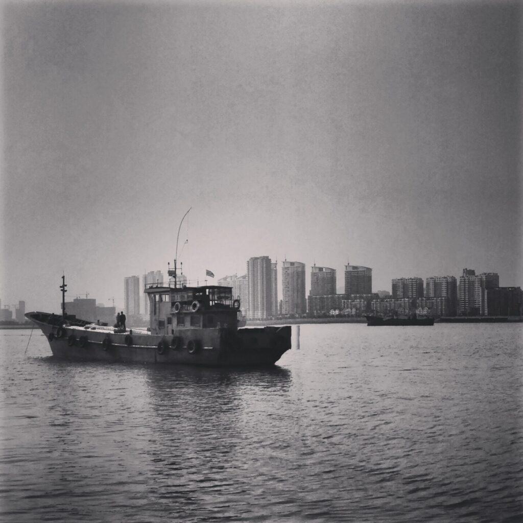 North Korean fishing boat - Dandong