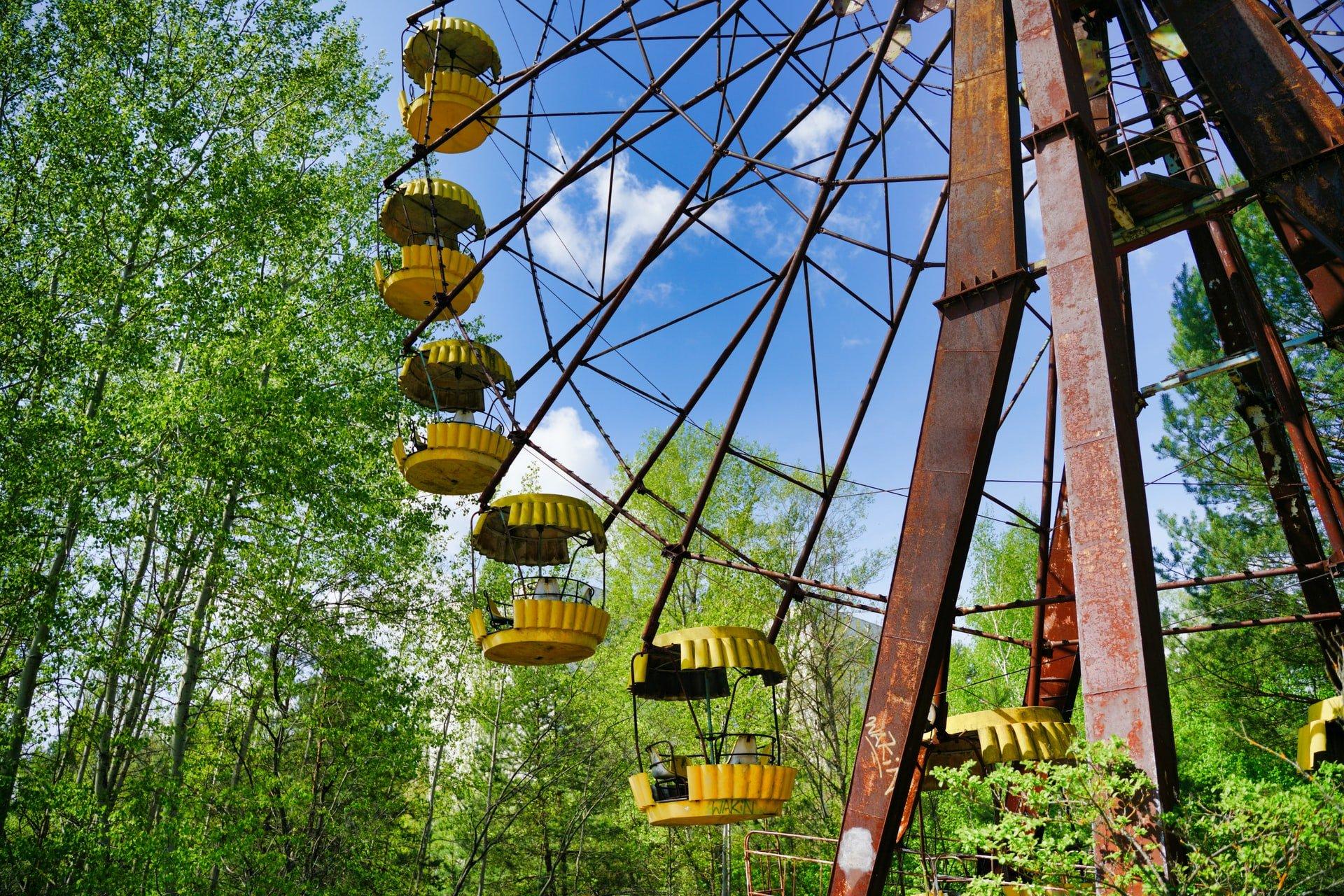Chernobyl Ferris wheel (photo: Michal Lis, Unsplash)