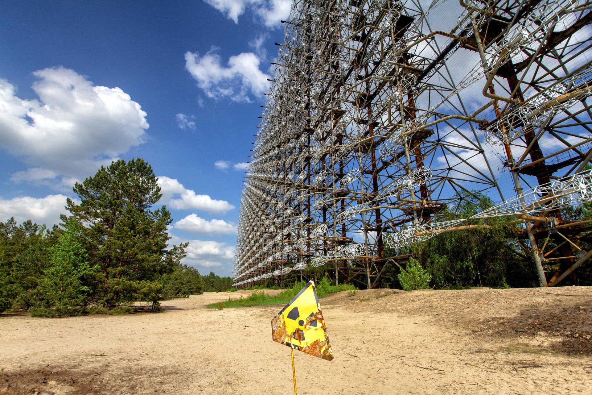 Duga 1 Soviet-era radar (photo: Yves Alarie, Unsplash)
