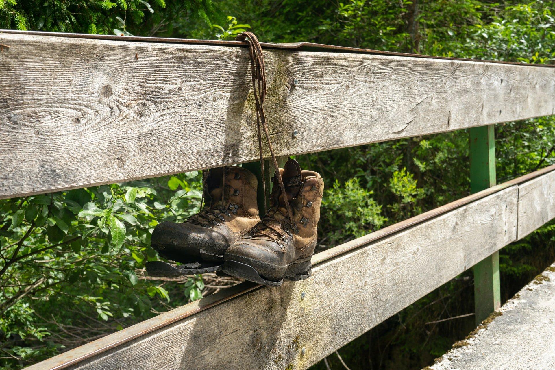 Hiking boots (photo: Ian Taylor, Unsplash)