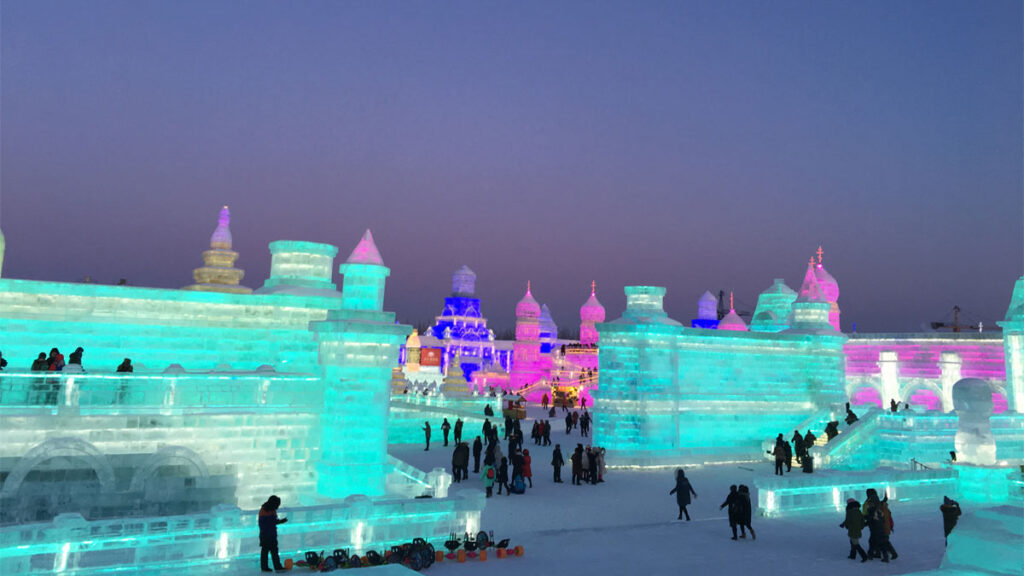 Ice Festival in Heilongjiang