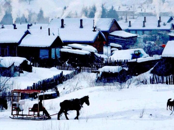 Snowy Heilongjiang, China