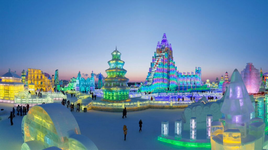 The Harbin Ice Festival will be the best thing you do in Heilongjiang, China