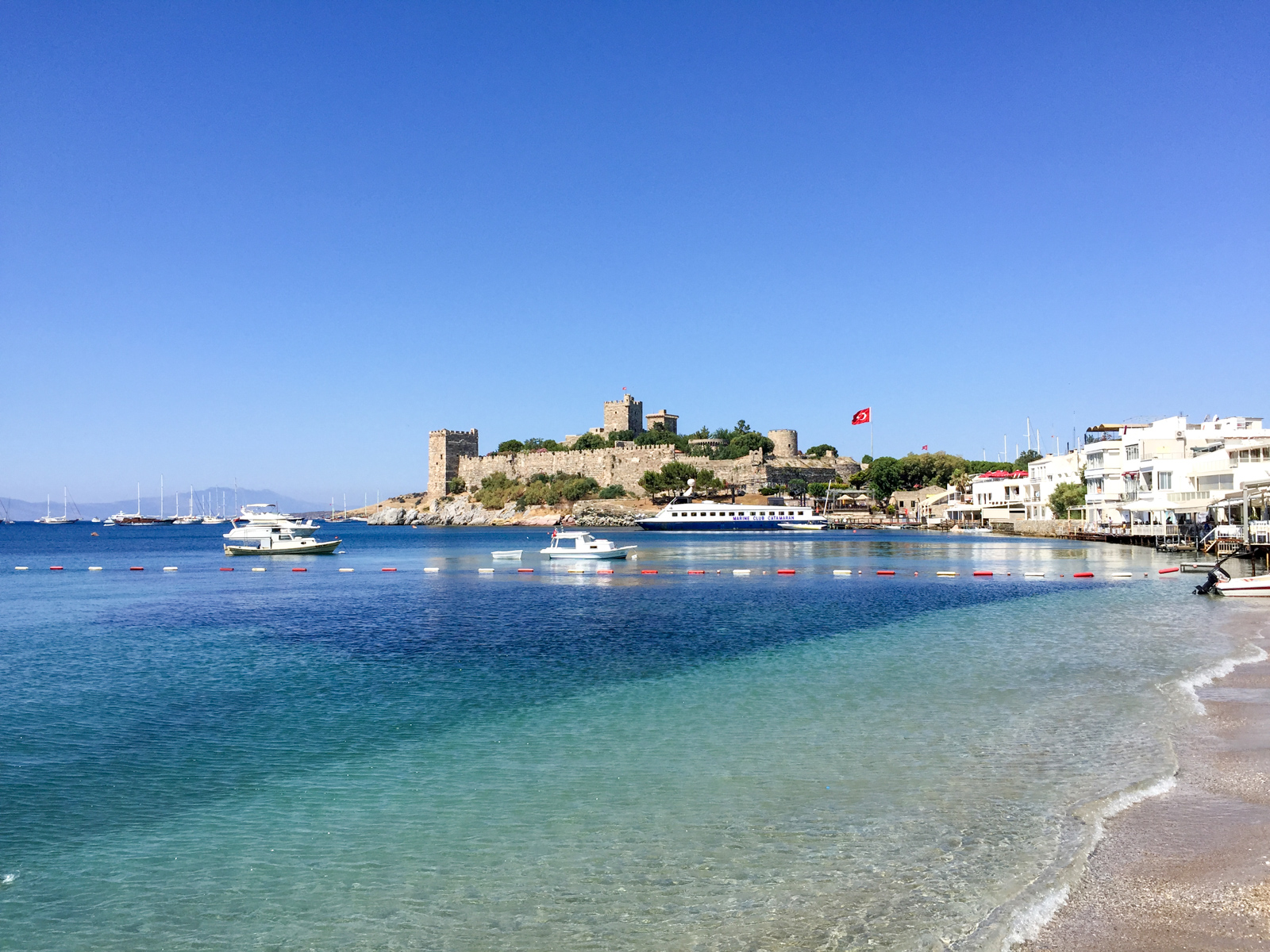 St. Peter's Castle belongs in any Bodrum travel guide (photo: Dave Lee)